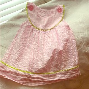 💙4 for $12💙nursery rhyme 6 month pink dress